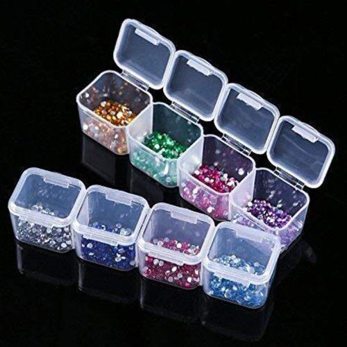 Gyémántszem tároló kis doboz