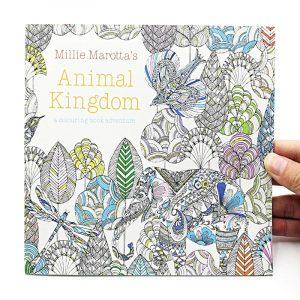 Millie Marotta's Állatvilág Felnőtt színező könyv