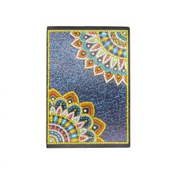 58 oldalas vonalas mandala mintás jegyzetfüzet gyémántszemes kirakó