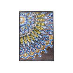 58 oldalas vonalas mandala jegyzetfüzet gyémántszemes kirakó