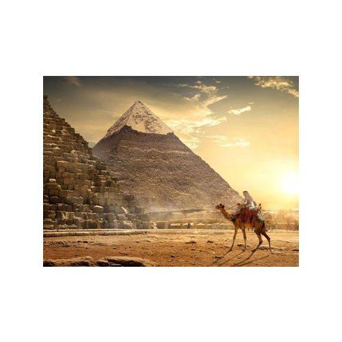 Piramisok kör alakú kreatív gyémánt kirakó