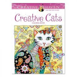 Macskák Felnőtt színezőkönyv