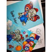 Elefántos kifestő