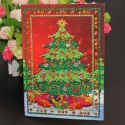 Karácsonyi képeslapok gyémántszemes kirakó 2.