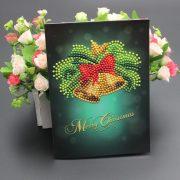 Karácsonyi képeslapok gyémántszemes kirakó 3.