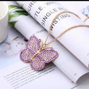 Pillangó medál gyémántszemes kirakó