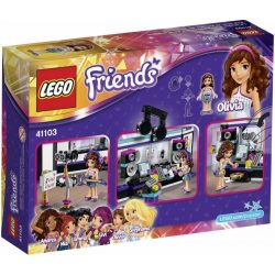 Friends Popsztár Hangstúdió Lego