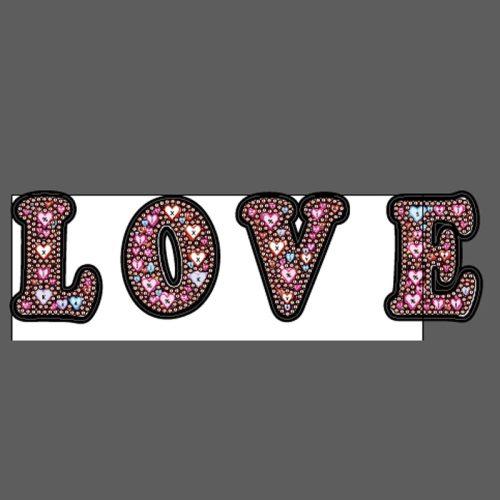 Love gyémántszemes kirakó kulcstartók