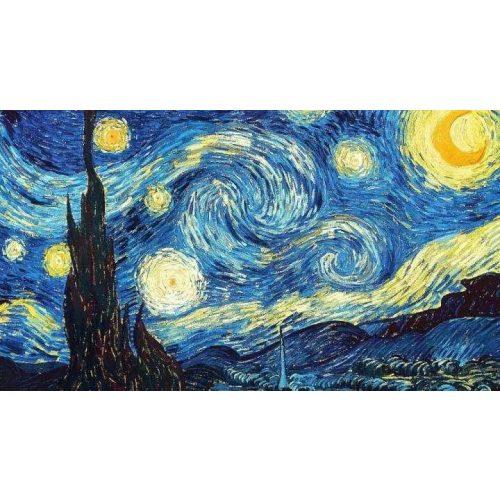 Van Gogh Csillagos Éj festés számok alapján kreatív készlet keret nélkül 40×50