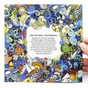 Csodaország felfedezése felnőtt színező könyv