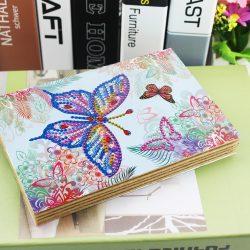 Pillangós Gyémántszemes kirakó fotóalbum gyerekeknek