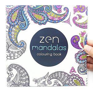 Zen Mandala felnőtt színező