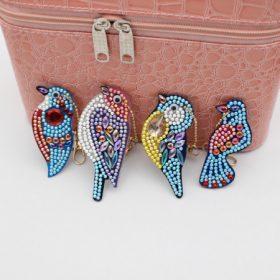 Gyémántszemes kirakó kulcstartók